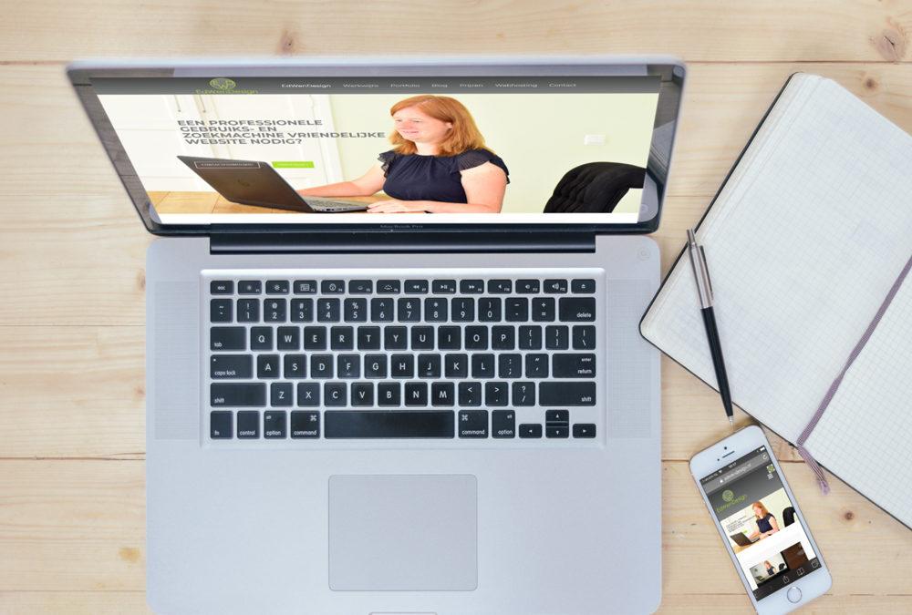 wens webdesign website met succes