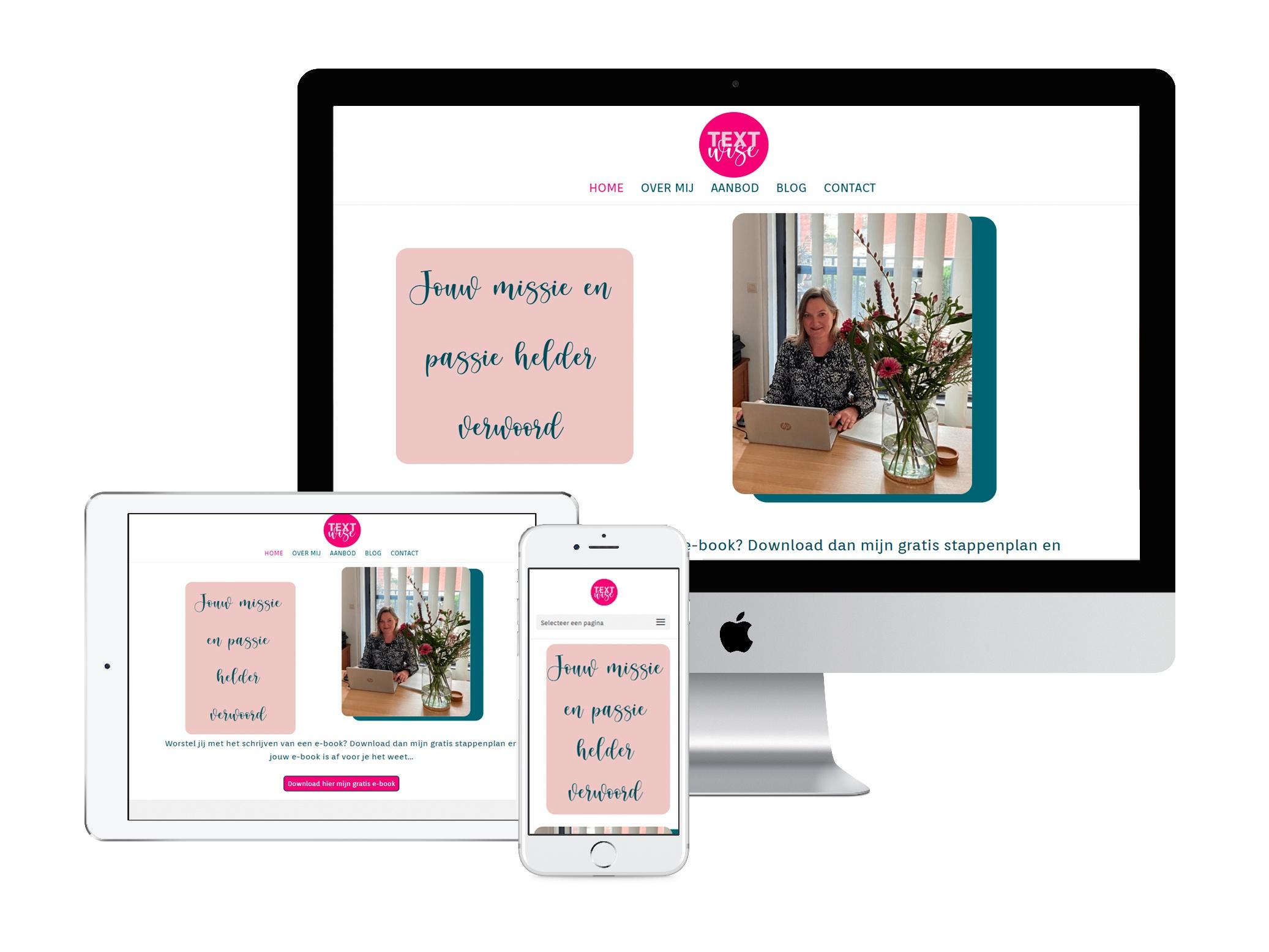 textwise portfolio WensWebdesign